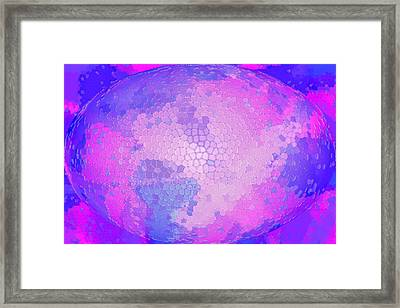 A World In Turmoil Framed Print by Larry Bishop
