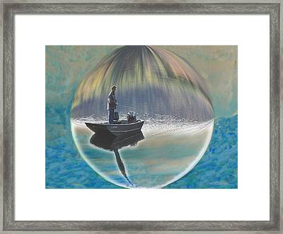 A World Of Good Fishing Framed Print