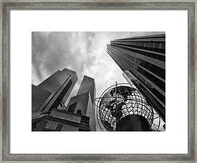 A World Of Skyscrapers Framed Print