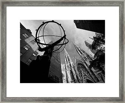 A World Religion Framed Print by Cornelis Verwaal