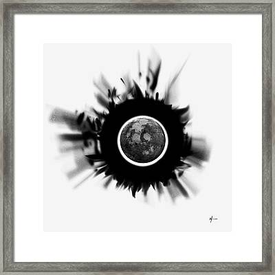 A World Within My Paint Pot . Framed Print