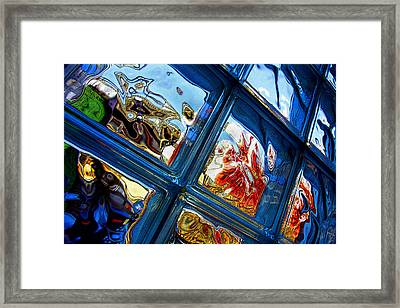 Framed Print featuring the photograph A Wrinkle In Reality by Mike Flynn