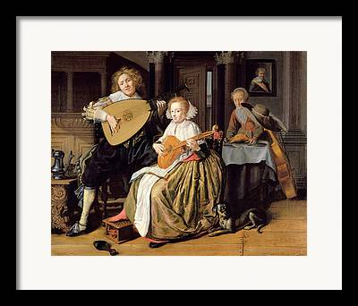 Theorbo Framed Prints
