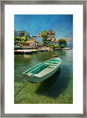 A Yvoire - France Framed Print
