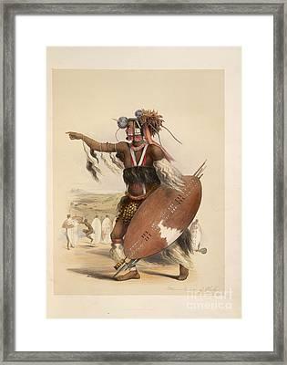 A Zulu Framed Print by British Library