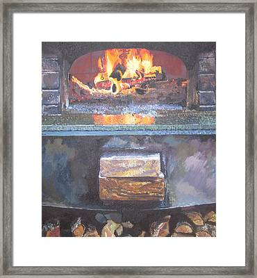 A16 Oven Framed Print by Kendal Greer