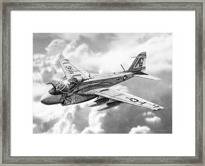 A6 Intruder Framed Print