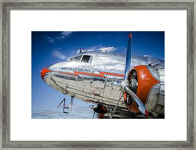 Aa Dc3 Flagship Detroit Framed Print by Bradley Clay