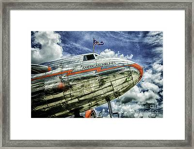 Aa Flag Ship Framed Print