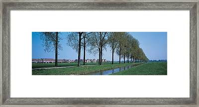 Aalsmeer Holland Netherlands Framed Print