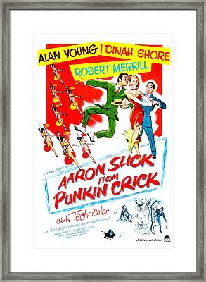 Aaron Slick From Punkin Crick, Us Framed Print by Everett