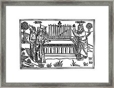 Aaron's Rod Framed Print by Granger