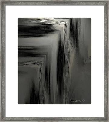 Ab-b-p Framed Print by Ines Garay-Colomba