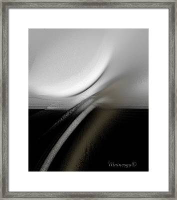 Ab-bb-cb-ba Framed Print by Ines Garay-Colomba