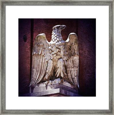 Ab Eagle St. Louis Brewery Framed Print