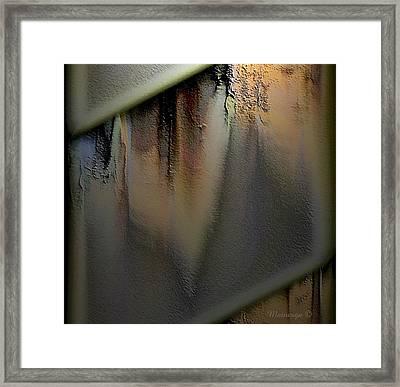 Ab-gar-w-w-w Framed Print by Ines Garay-Colomba