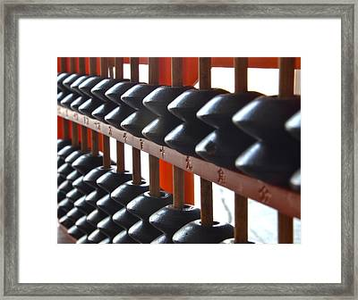 Abacus Framed Print