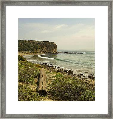 Abalone Cove Coastline Framed Print