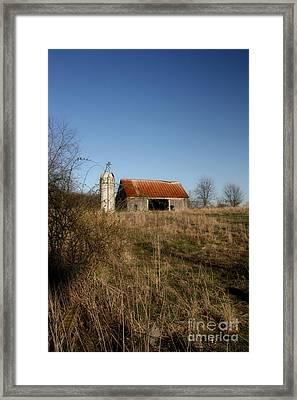 Abandon Barn Framed Print