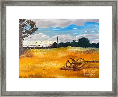 Abandon Farm Framed Print