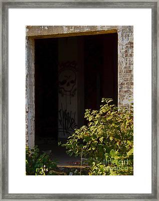 Abandon Hope All Ye Who Enter Here Framed Print by James Aiken