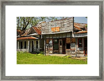 Abandonded Framed Print by Marty Koch