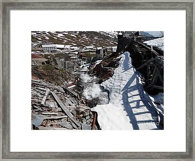 Abandoned Alaskan Gold Mine II Framed Print