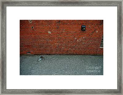 Abandoned Alley Framed Print by Bob Stone