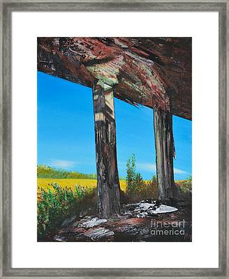 Abandoned Framed Print by Alys Caviness-Gober