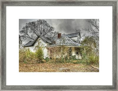Abandoned And Forgotten Framed Print by Brett Engle
