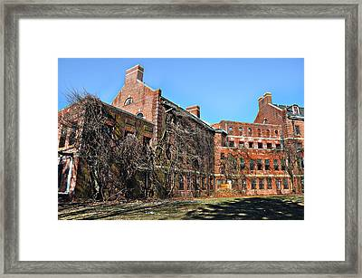 Abandoned Asylum Framed Print by Bill Cannon