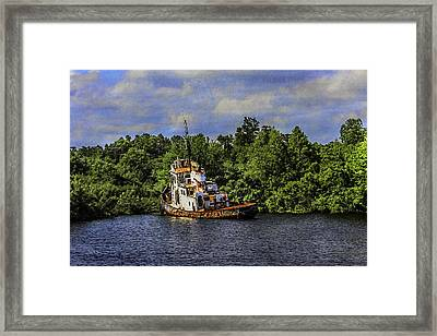 Abandoned Framed Print by Barry Jones