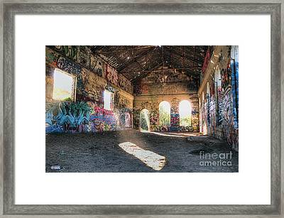 Abandoned Building Framed Print by Eddie Yerkish