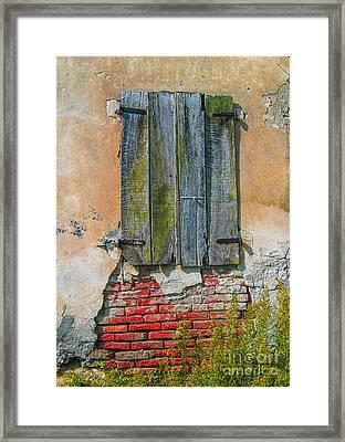 Abandoned Building Framed Print by Patricia Hofmeester