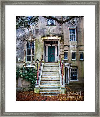 Abandoned Building Framed Print by Perry Webster