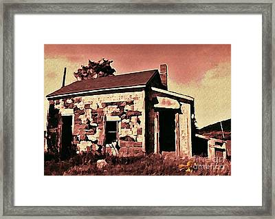 Abandoned Cape Breton House Framed Print by John Malone
