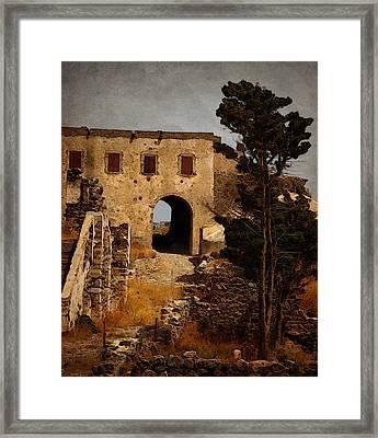 Abandoned Castle Framed Print by Christo Christov