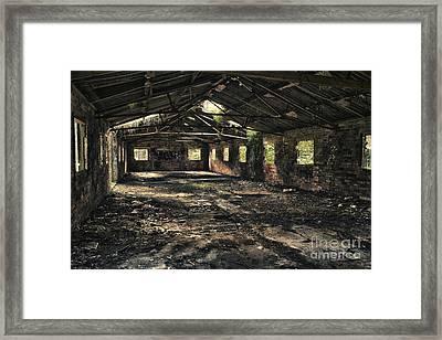 Abandoned Framed Print by Amanda Elwell