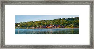 Abandoned Copper Framed Print by Panoramic Images