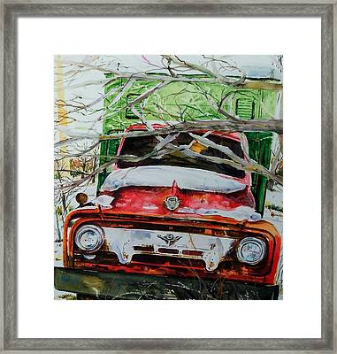 Abandoned Delivery  Framed Print