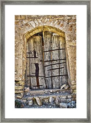 Abandoned Framed Print by Delphimages Photo Creations