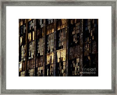Abandoned Denaturing Plant Framed Print by James Aiken