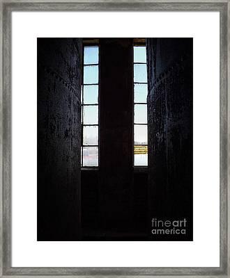 Abandoned Denaturing Tanks I Framed Print by James Aiken