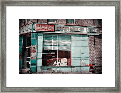 Abandoned Drug Store Framed Print by DeeLusions Photography