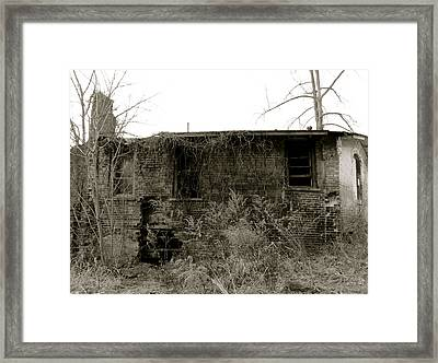 Abandoned Factory Framed Print by Azthet Photography