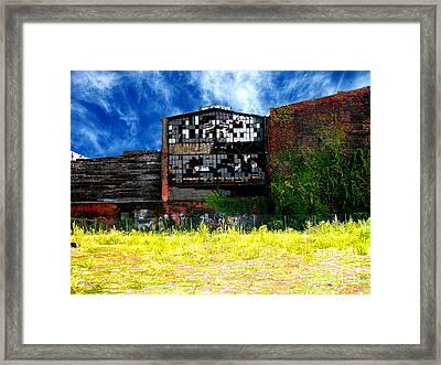 Abandoned Factory 1 Framed Print