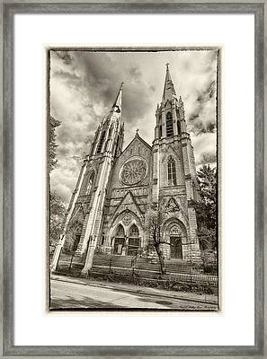 Abandoned Faith Framed Print by Kathy Ponce