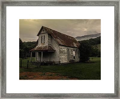 Abandoned Faith Framed Print