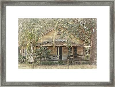 Abandoned Family History Framed Print