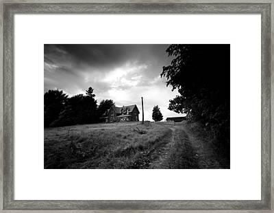 Abandoned Farm Home Framed Print by Cale Best